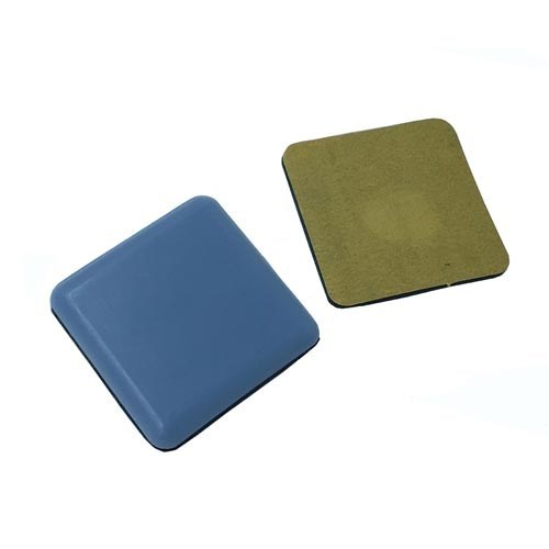 50mm Square Furniture self adhesive Teflon Glider