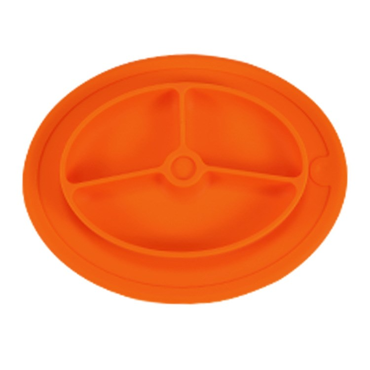 New silicone children's placemat plate