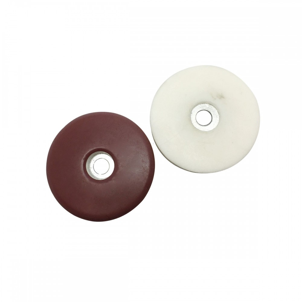 Round PTFE (Teflon) Screw on Furniture Gliders
