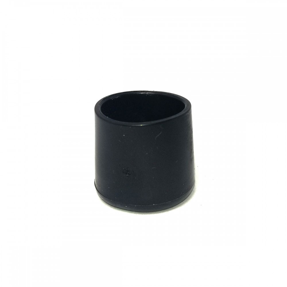 25mm furniture leg cover black