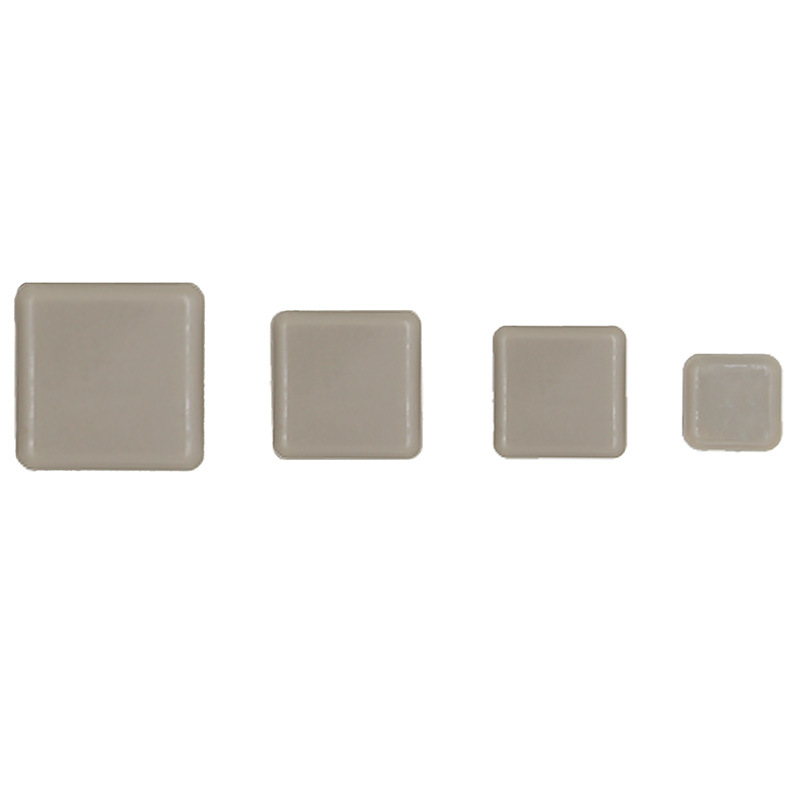 Square Furniture Self Adhesive Teflon Glider
