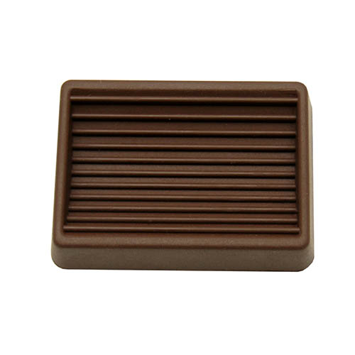 Rectangle Brown Furniture  Rubber Caster Cups