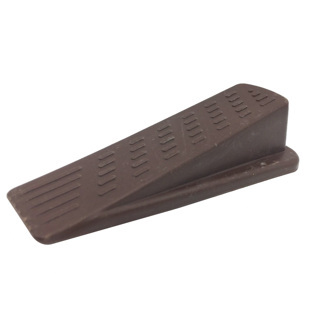 Brown Wedge Door Stop Design Door Stopper