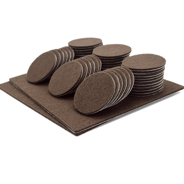 Furniture Felt Pads Black Best Wood Floor Protectors