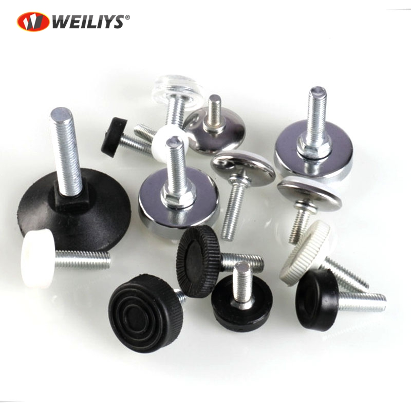 Furniture Levelers 6mX12mm PVC adjustable feet